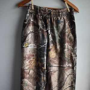 Youth XL scent shield rain blocker camo pants